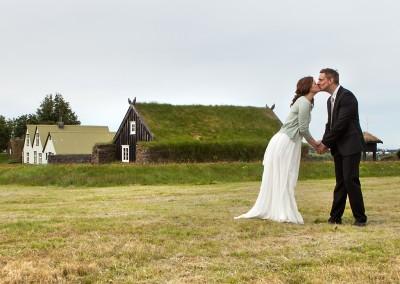 Kissing in Arbæjarsafn