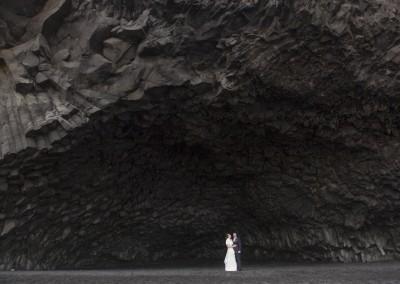 Wedding on Reynisfjara