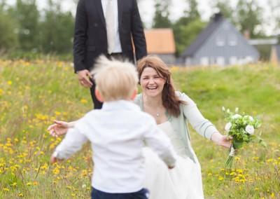 Wedding photo in Iceland