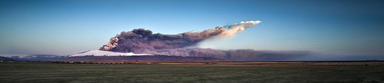 Volcano Eyjafjallajökull